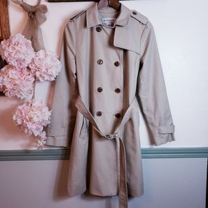 LIZ CLAIBORNE Work Trench Coat sSz Medium